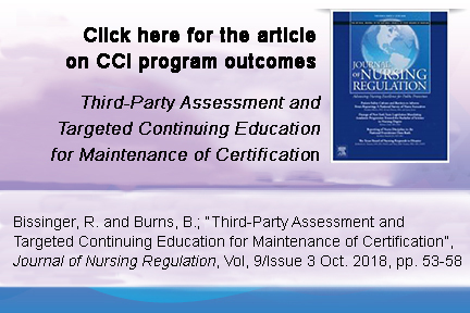 Third-Party Assessment and Targeted Continuing Education for Maintenance of Certification